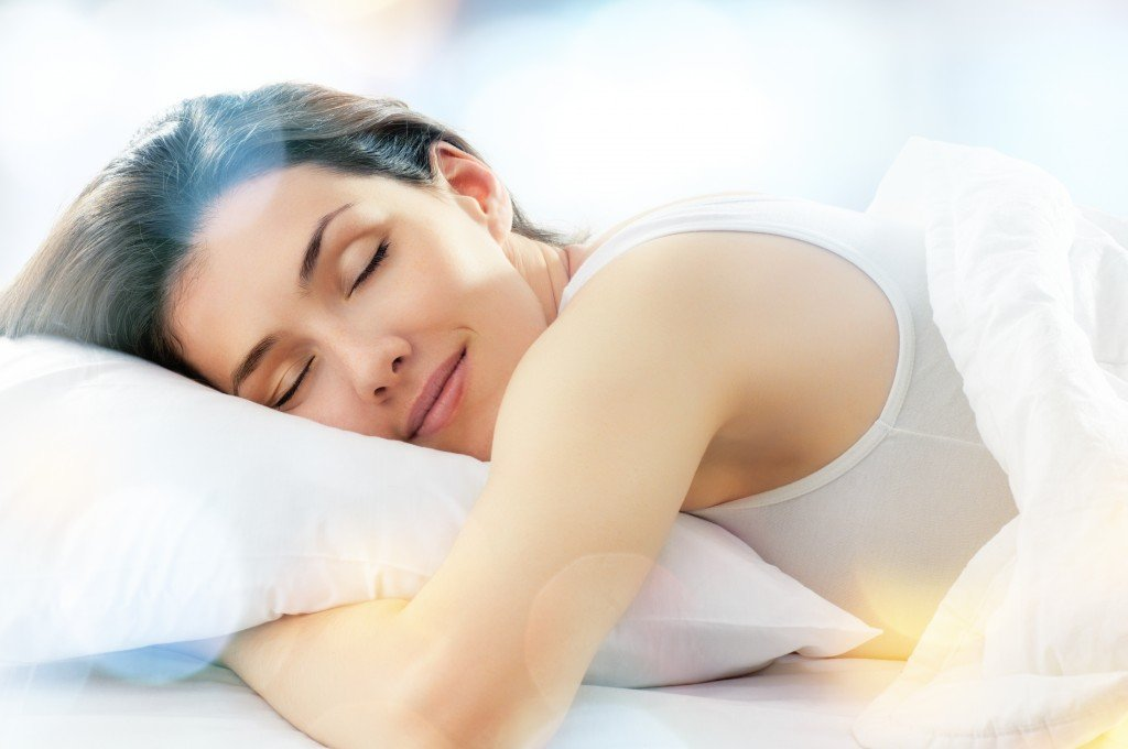 A woman sleeping. (iStockphoto)