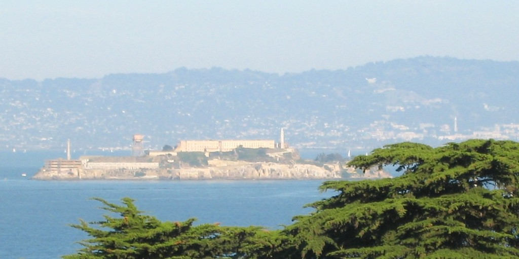 Alcatraz island as from San Francisco