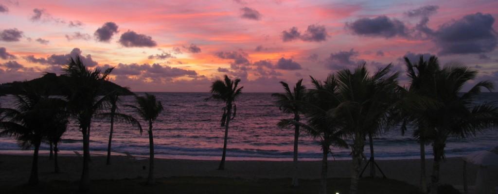 Antigua - beautiful sunrise