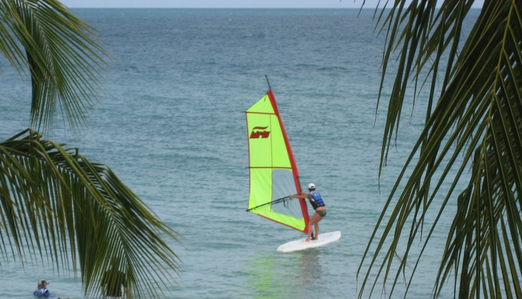 Antigua - one of the many sports you can enjoy