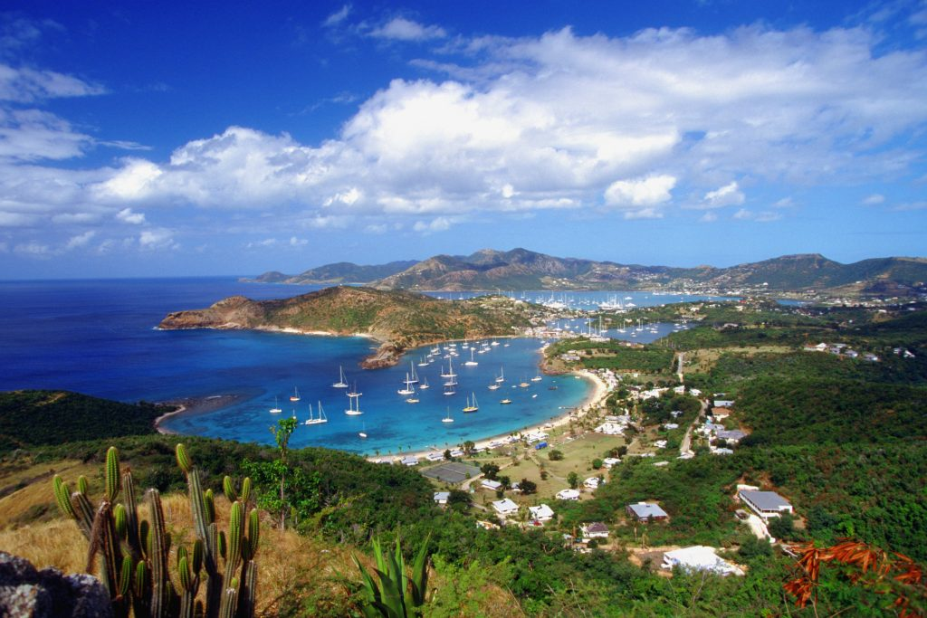 English Harbour and Falmouth Harbor, Antigua, Caribbean (Medioimages/Photodisc)