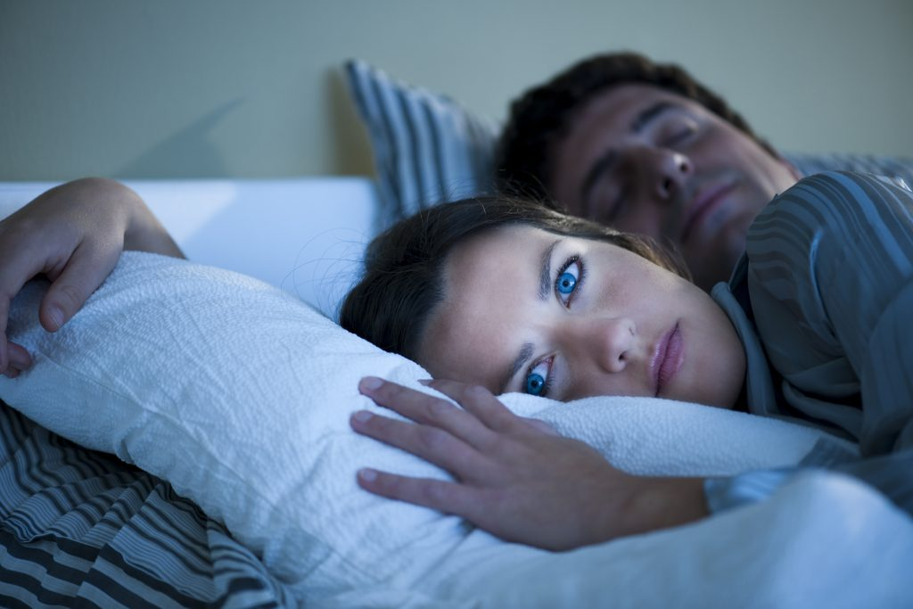 A woman suffering from insomnia. (iStockphoto/Thinkstock)
