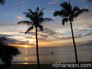 We were back at the the Ka'anapali Beach Hotel to soak in the sunset.