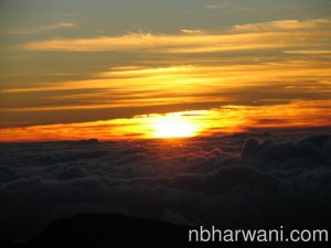 The most memorable day was spent at the Haleakala volcano summit (10,000 ft) to watch the most beautiful sunrise.