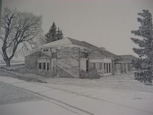 James Marshall Office Drawing