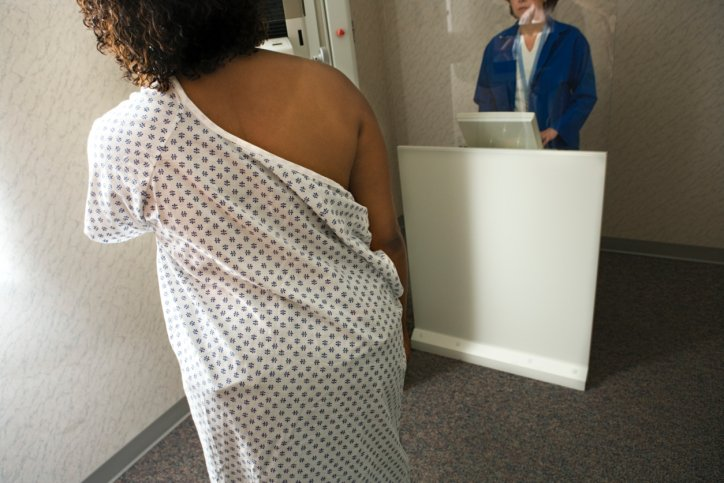 Woman getting a mammogram. (JupiterImages/Thinkstock)