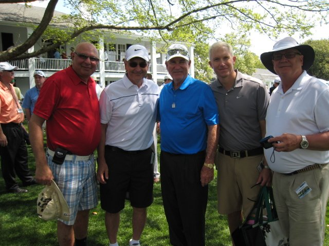 With Dave Stockton, short game guru and a well known American Golfer. From L to R: Noorali, Tony, Dave Stockton, Dan, Harry.