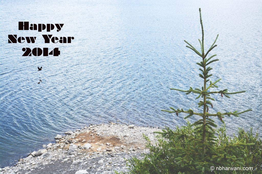 Wishing you all a happy and peaceful New Year. (Dr. Noorali Bharwani)