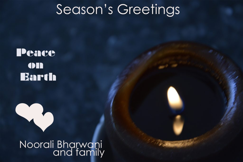 Season's Greetings (Dr. Noorali Bharwani)