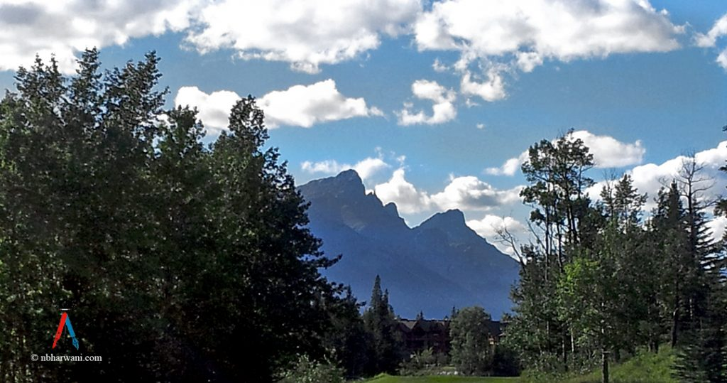 A beautiful view of the Canadian Rockies. (Dr. Noorali Bharwani)
