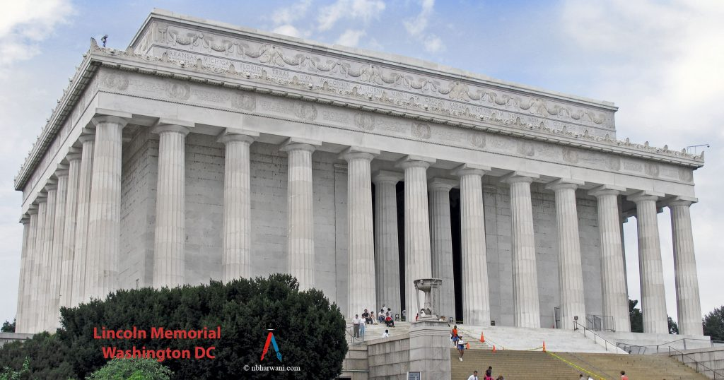 Lincoln Memorial in Washington, D.C. (Dr. Noorali Bharwani)