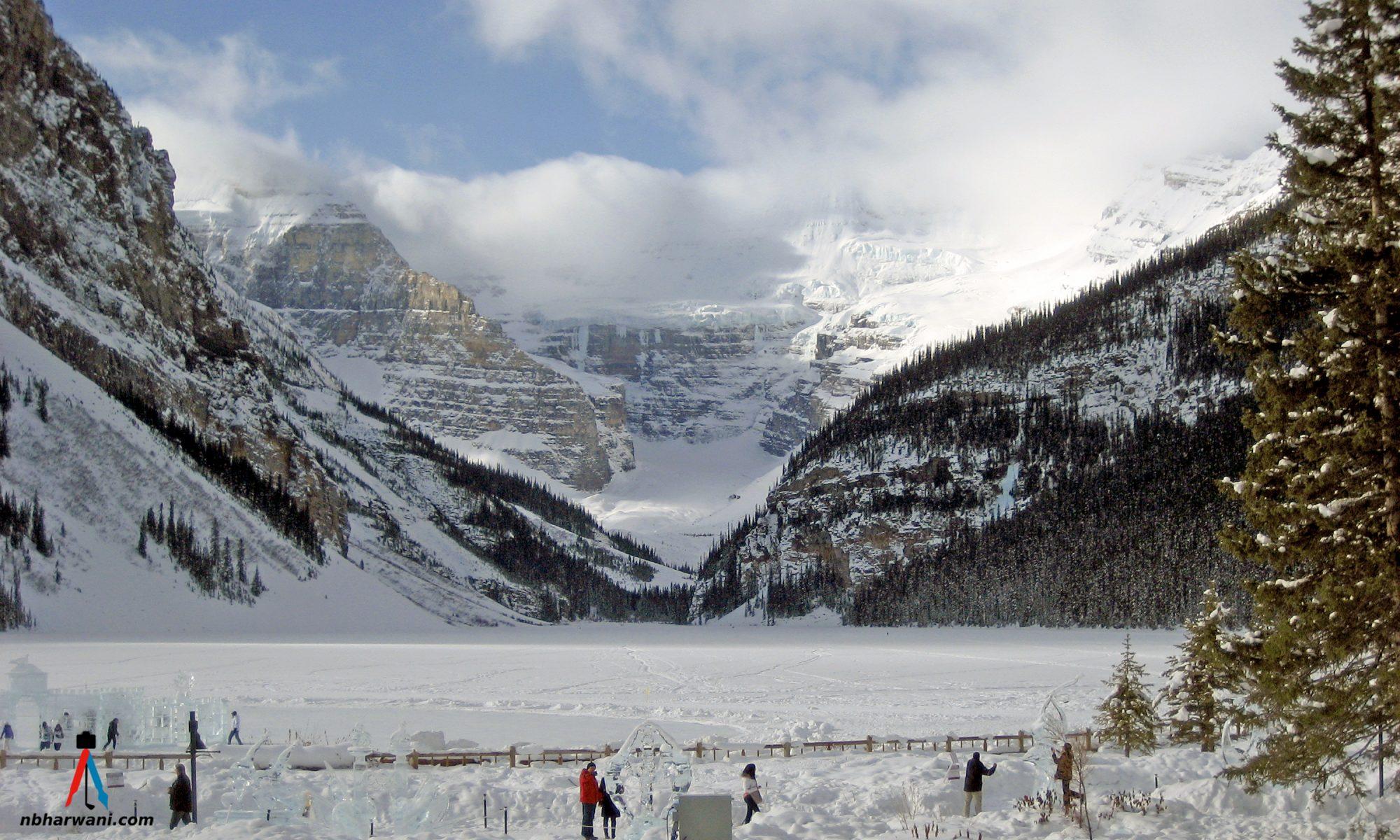 Lake Louise, Alberta. (Dr. Noorali Bharwani)