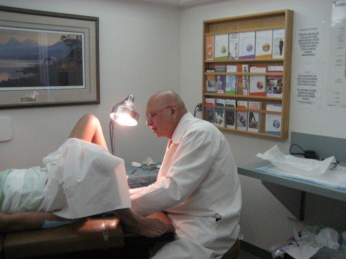 Examining Anal Warts