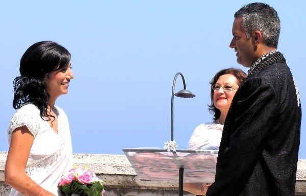 Zahra and Navroz getting married.
