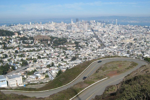 San Francisco as seen from Twin Peaks
