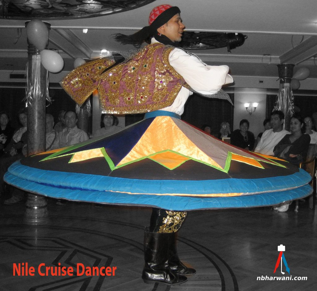 Nile Cruise Dancer (Dr. Noorali Bharwani)
