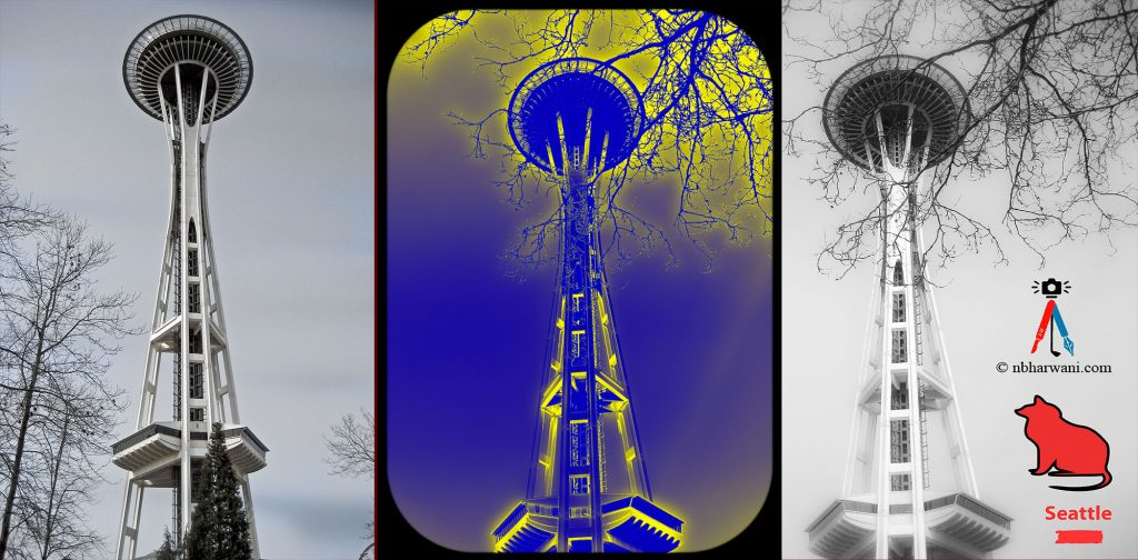 Space Needle in Seattle. (Dr. Noorali Bharwani)