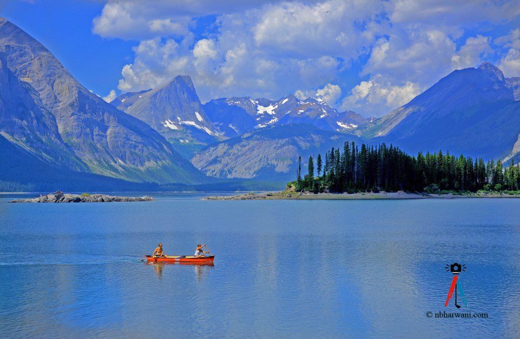 Upper Kananaskis Lake, Alberta, Canada. (Dr. Noorali Bharwani)