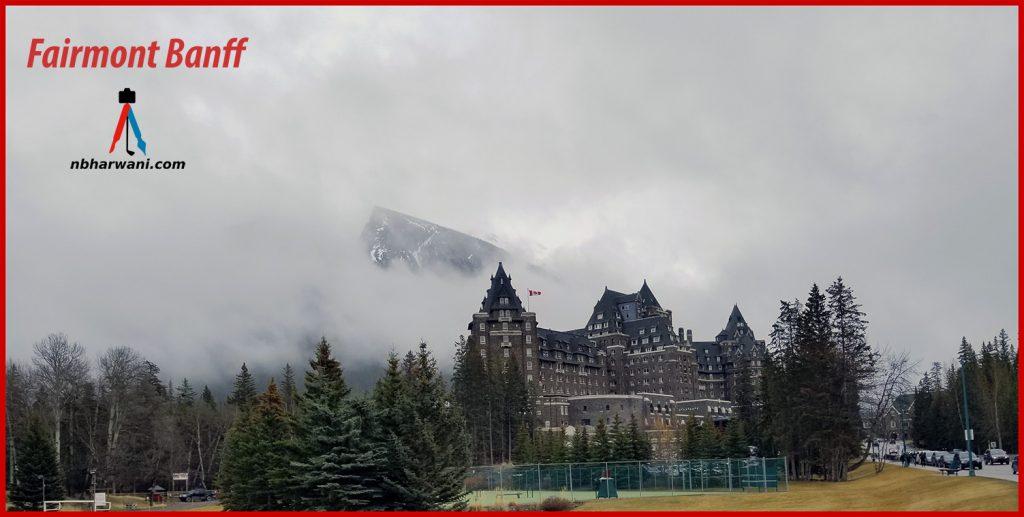 Fairmont Banff Springs in Alberta, Canada. (Dr. Noorali Bharwani)