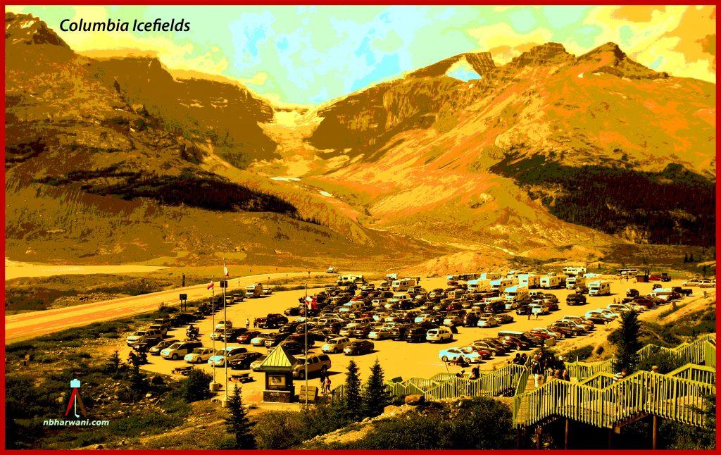 Columbia Icefield (Dr. Noorali Bharwani)