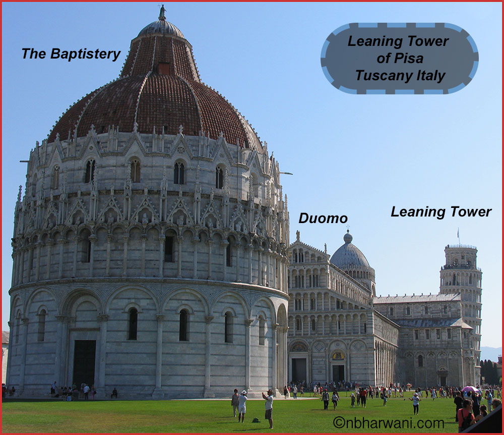 The Leaning Tower of Pisa (Dr. Noorali Bharwani)