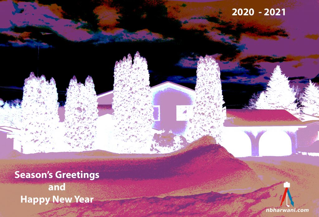 Season's Greetings and Happy New Year (Dr. Noorali Bharwani)
