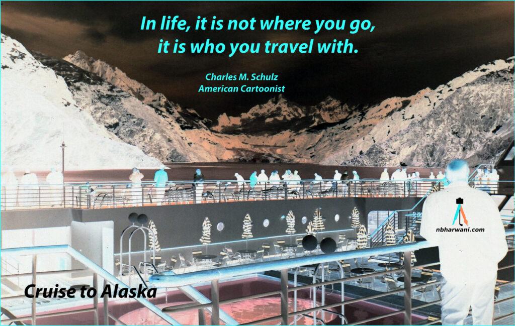 Cruise to Alaska. (Dr. Noorali Bharwani)