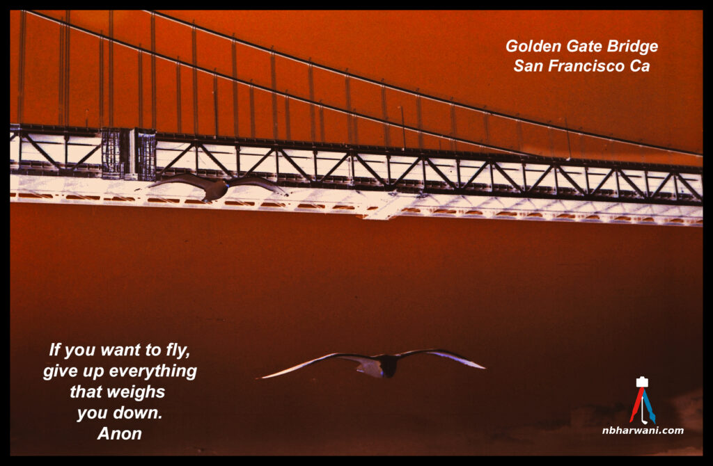 The Golden Gate Bridge in San Francisco, California. (Dr. Noorali Bharwani)
